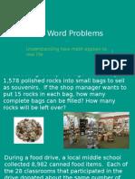 math word problems  module 5