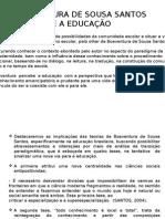 Boaventura de Sousa Santos - Slide