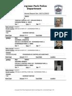 Evergreen Park Arrests Oct. 2-Oct. 8, 2015