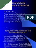 PLAGUICIDAS ORGANOCLORADOS