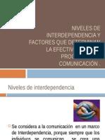 Niveles de Interdependencia y Factores Que Determinan La