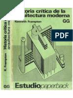Historia Crítica de La Arquitectura - Kenneth Frampton (Optimizated)