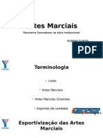 Artes Marciais - Panorama Sorocabano Na Ótica Da Governamentalidade