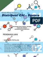 Distribusi Chi Square