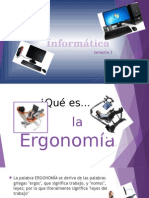 Informática-Ergonomía