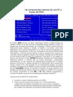 Configuración de Componentes Internos de Una PC a Través Del BIOS