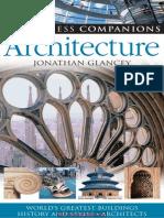 Eyewitness Companions Architecture (Eyewitness Companion Guides) by Jonathan Glancey