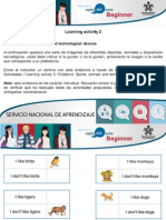 Actividad - Sports, Animals and Technological Devices