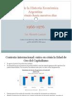1966 - 1975 Prof Ricardo Lazzari