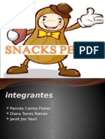 Trabajo Final de Snacks Diapositivas