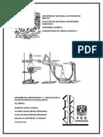 Informe de Destilación completo