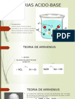 Teorias Acido Base