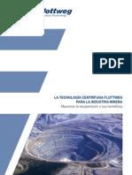 Tecnología centrifuga para mineria