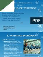 Geo Economica Glosario