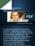 Terapia Periodontal de Mantenimiento