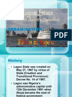 Culture and Urbanisation in Lagos State