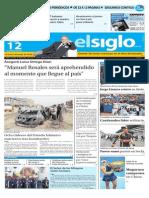 Edicion Impresa El Siglo 12-10-2015