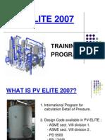 PV Elite Training
