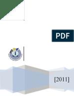 Kertas Kerja Pemantauan Dan Penyeliaan 2011