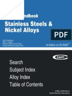 Stainless Steels & Nickel Alloys