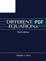 Differential Equations, 3rd (1984), S.L. Ross