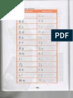 Caligrafia - Letras de Exemplo