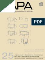 MAÑANA BORRAZAS, P. Et.al. Arqueotectura 1. Bases Teorico Metodologicas Para Una Arqueologia de La Arquitect_20140428202844