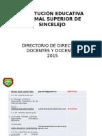 directorio de directivos docentes y docentes 2015-2