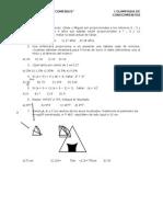 Evaluacion Quincenal Pre Secundaria Comenius 2015