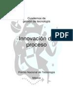 Cuaderno de Innovación de Procesos