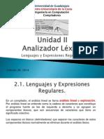 Unidad II Analisis Lexico
