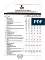 Financial Results with Results Press Release & Limited Review for Sept 30, 2014 (Standalone) [Result]