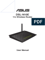 Asus DSL N10E Manual English