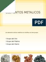 Elementos Metalicos Nativos