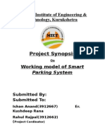 Project Synopsis on Smart Parking System