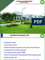 12. Sundram Fasteners Limited, Hosur