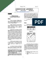 cuadernos del ajedrez defensa francesa