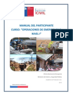 Manual Curso Operaciones de Emergencias Nivel i