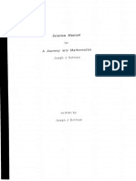 Solution Manual for Journey Into Mathematics