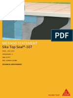 Sika Top Seal 107 MS