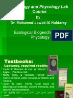 Introduction to algal characteristics