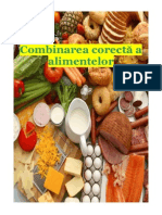 Combinarea CORECTA a Alimentelor