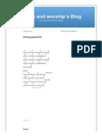 Aming Pupurihin Praise and Worship s Blog