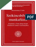 Böszörményi Csaba - Szókincsbővítő Munkafüzet