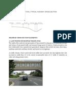 Roadway Cross Section