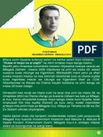 Ahadi Za Mgombea Udiwani Yusuf Manji Mbagala