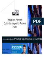 TRADEKING the Options Playbook Rookie Strats I
