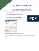Cara Setting IP Address Di Windows 7