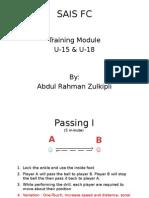 SAIS FC Training Module