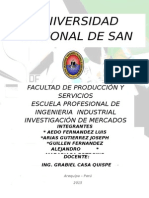 Bibliografia de tesis de Investigación de Mercados